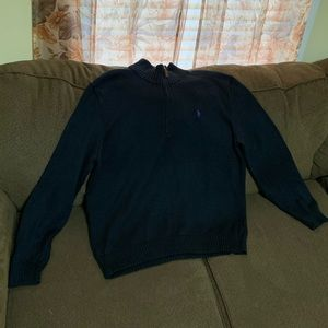 Polo Ralph Lauren 1/4 Sweater, Mens L (Used)